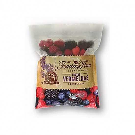 Mix de Frutas Vermelhas Orgânicas Congeladas 300g - Fruta Fina