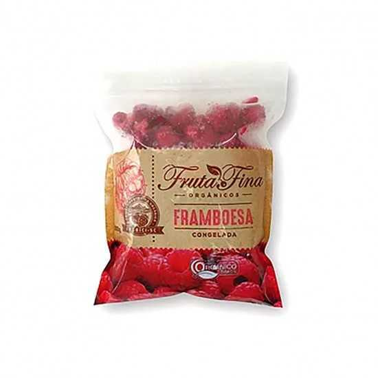 Framboesa Orgânica Congelada 300g - Fruta Fina