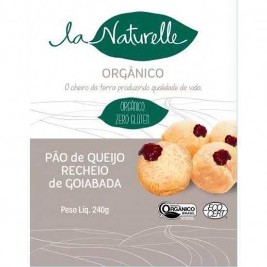 Pão de Queijo Orgânico c/ Goiabada 240g - La Naturelle