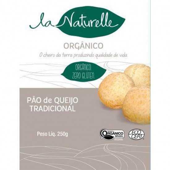 Pão de Queijo Tradicional Orgânico 250 g - La Naturelle