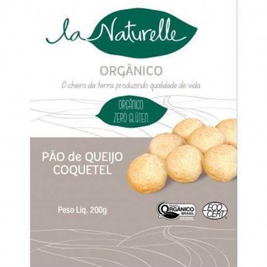 Pão De Queijo Coquetel Orgânico 200g - La Naturelle
