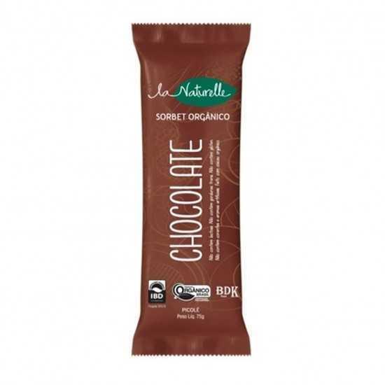 Picolé Orgânico Chocolate 75 g - La Naturelle