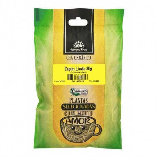 Capim Limão Orgânica 30g - Kampo de Ervas