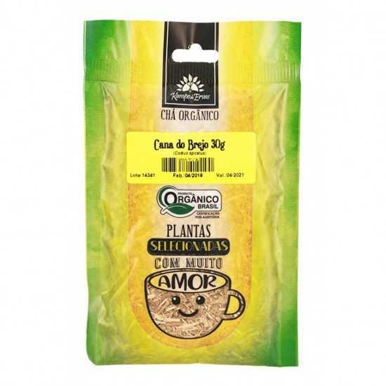Cana Do Brejo Orgânica 30g - Kampo de Ervas
