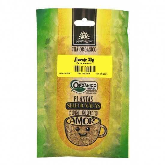 Folha de Abacate Orgânico 30g - Kampo de Ervas