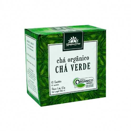Chá Verde Orgânico - Kampo...