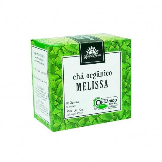 Chá de Melissa Orgânico - Kampo de Ervas