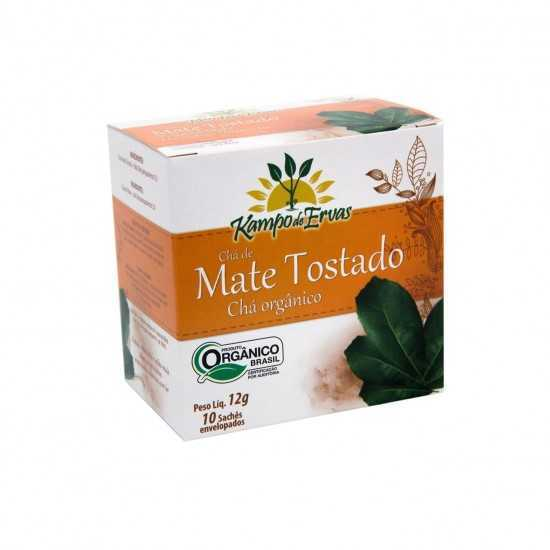 Chá de Mate Tostado Orgânico - Kampo de Ervas