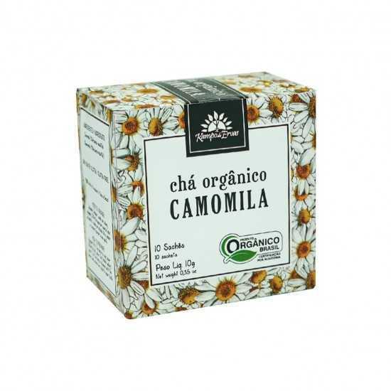Chá de Camomila Orgânica - Kampo de Ervas