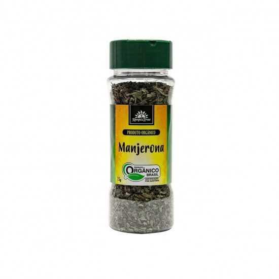 Manjerona Orgânica 15g - Kampo de Ervas