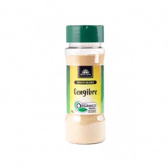 Gengibre em Pó Orgânico 50g - Kampo de Ervas