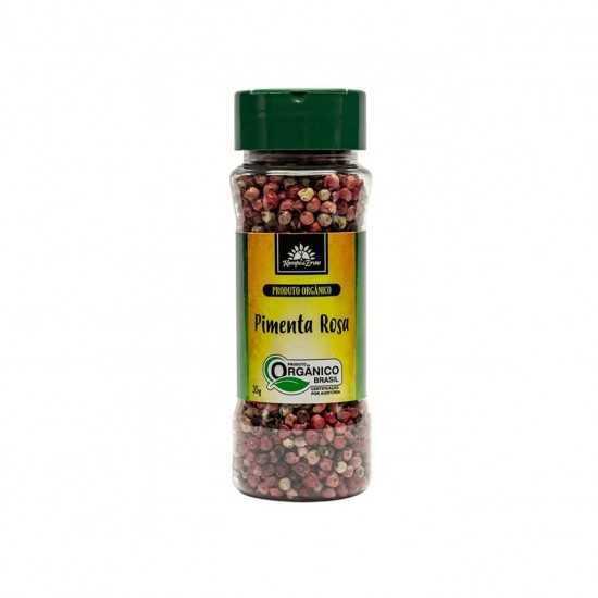 Pimenta Rosa Orgânica 35g - Kampo de Ervas