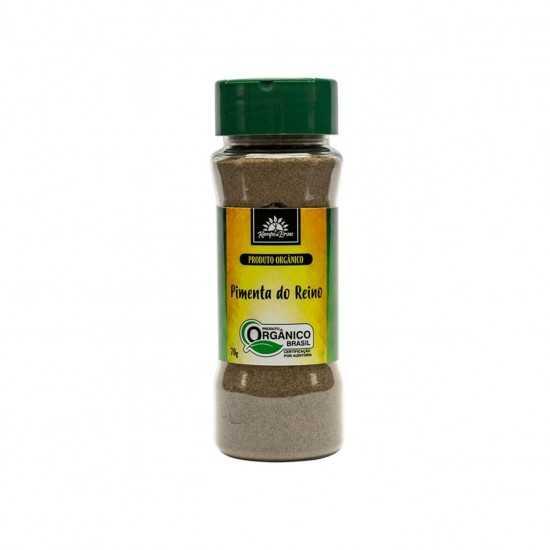 Pimenta do Reino Orgânica Em Pó 70g - Kampo de Ervas