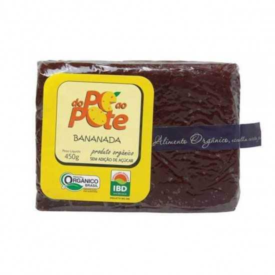 Bananada Orgânica 450g - Do...