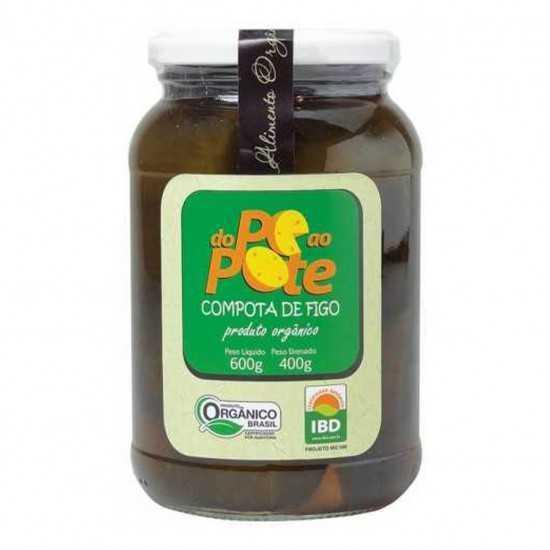 Compota de Figo Orgânica 600g - Do Pé Ao Pote