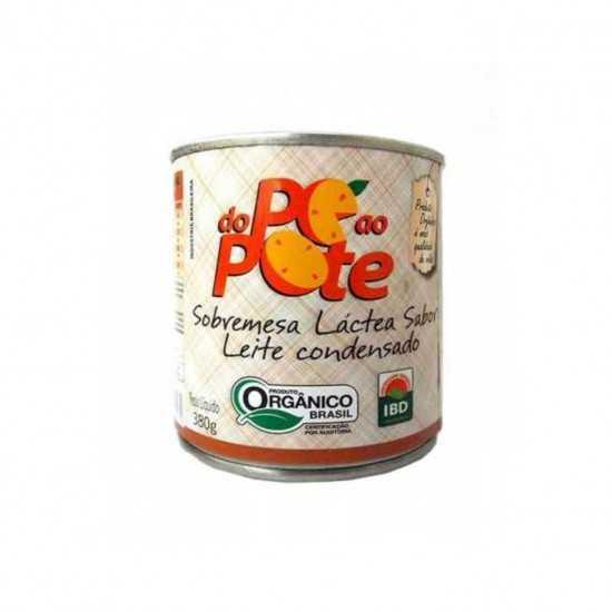 Sobremesa Láctea Sabor Leite Condensado 380g - Do Pé Ao Pote