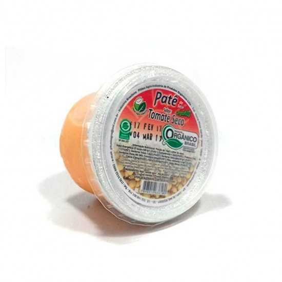 Patê de Soja Orgânico Sabor Tomate Seco 110g - Sítio Boa Esperança