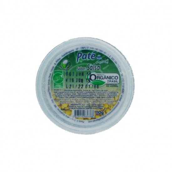 Patê de Soja Orgânico Sabor Salsa 110g - Sítio Boa Esperança