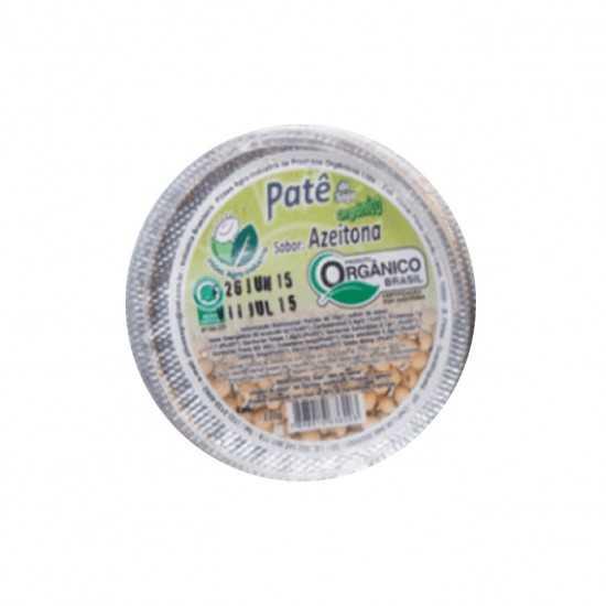 Patê de Soja Orgânico Sabor Azeitona 110g - Sítio Boa Esperança