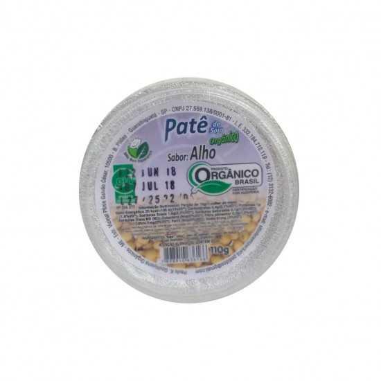 Patê de Soja Orgânico Sabor Alho 110g - Sítio Boa Esperança