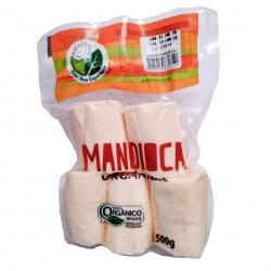 Mandioca Descascada Embalada a Vácuo Orgânica 500g - Sítio Boa Esperança
