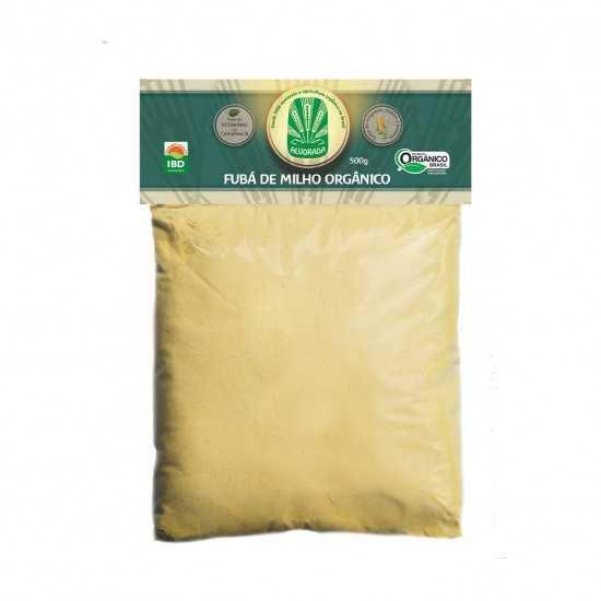 Fubá De Milho Orgânico 500g - Alvorada Orgânicos