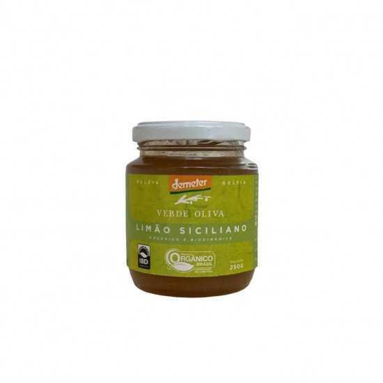 Geleia de Limão Siciliano Orgânica e Biodinâmica 250g - Verde Oliva