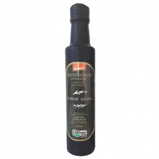 Azeite Verde Oliva Orgânico e Biodinâmico Extra Virgem 250ml - Verde Oliva