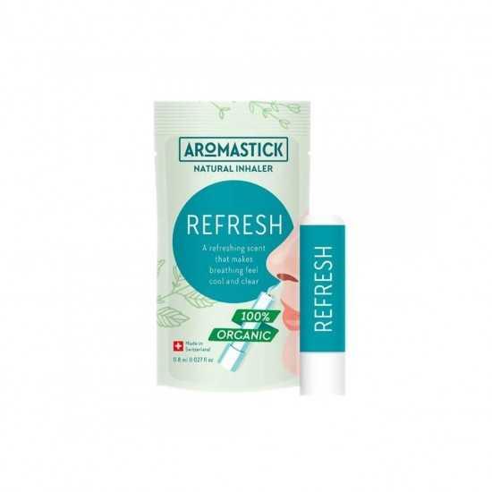 Inalador Natural Refresh Aromastick - Biouté