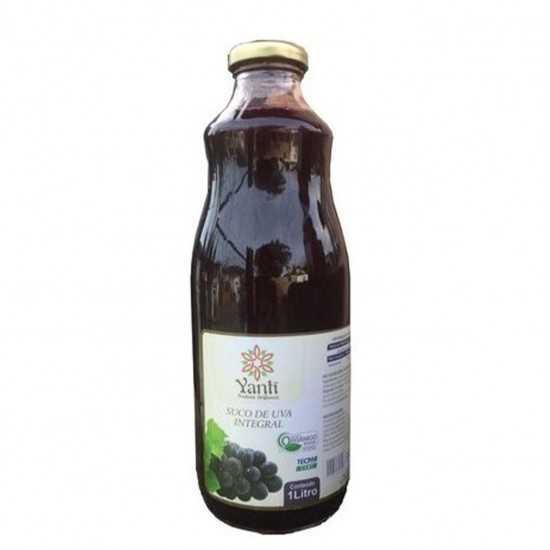Suco de Uva Integral Orgânico 1L - Yanti