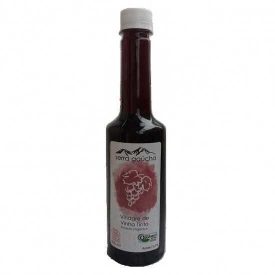 Vinagre de Vinho Tinto Orgânico 500ml - Serra Gaúcha - Yanti