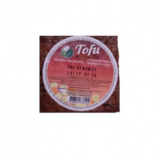 Tofu Orgânico Defumado com Pimenta e Orégano 110g - Sítio Boa Esperança