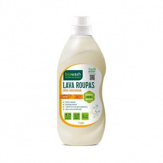 Lava Roupas Citrus Liquido Orgânico 1L - Biowash