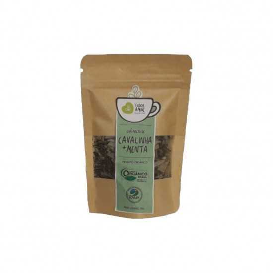 Chá de Cavalinha e Menta Orgânico 15g - Terra Amor