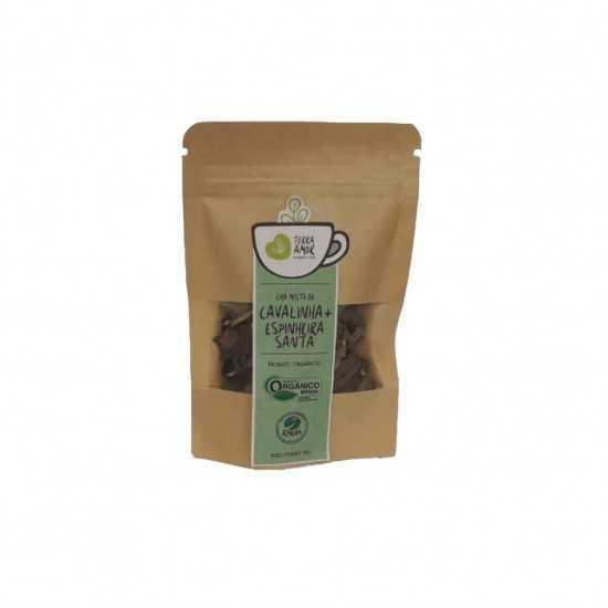 Chá de Cavalinha e Espinheira Orgânico 15g - Terra Amor
