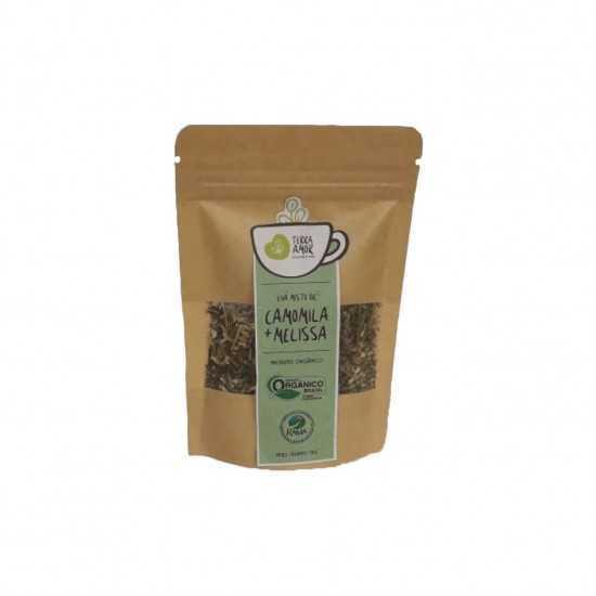 Chá de Camomila e Melissa Orgânico 15g - Terra Amor