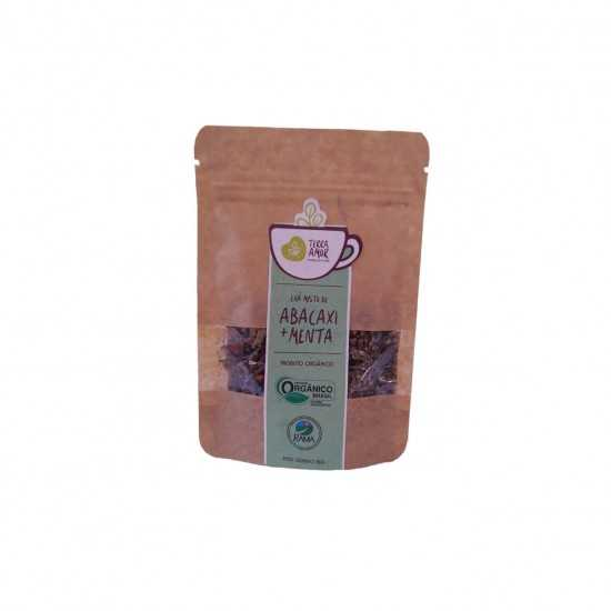 Chá de Abacaxi com Menta Orgânico 15g - Terra Amor