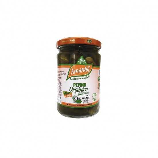Pepino em Conserva Orgânico 180g - GoGreen