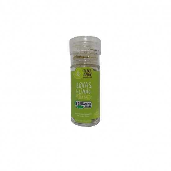 Moedor de Ervas e Limão Orgânico 40g Terra Amor