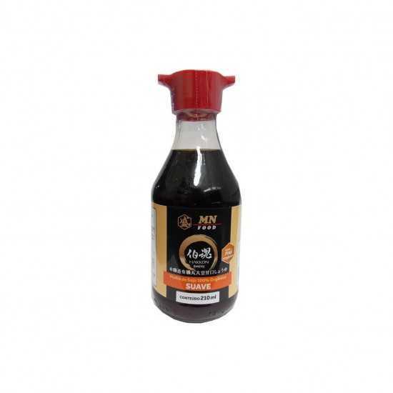 Shoyu Orgânico Suave Molheira 210ml MN Food