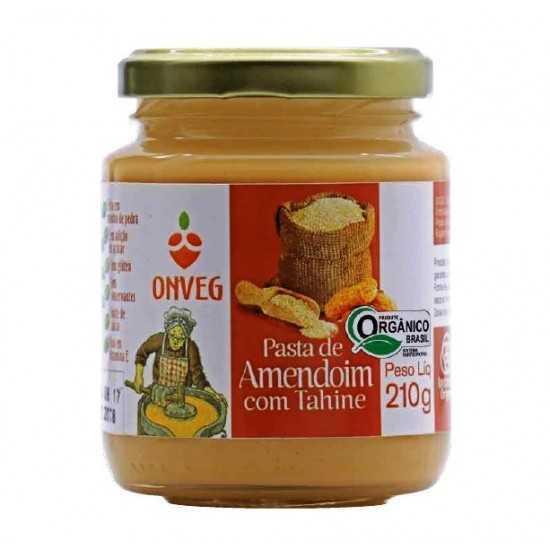 Pasta de Amendoim com Tahine Orgânica 210g - Onveg