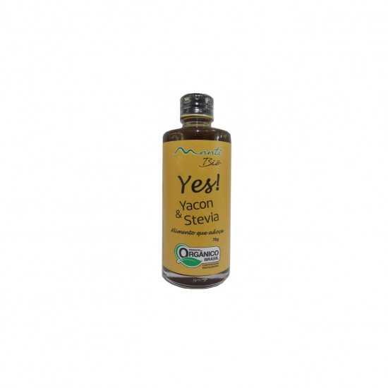 Adoçante Yes! - Yacon e Stevia Orgânica 70g - Mantí Biô