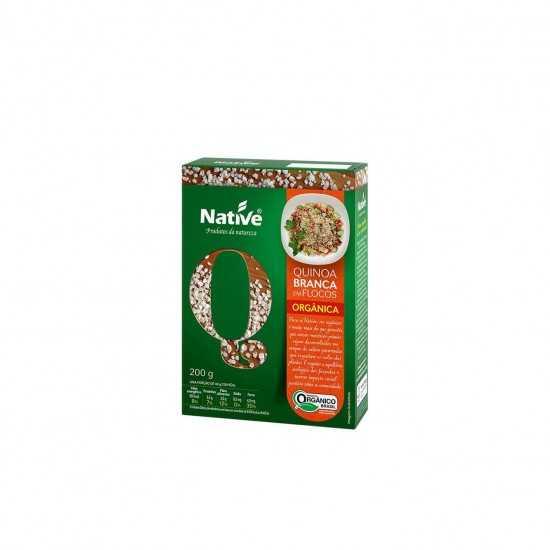 Quinoa Branca em Flocos Orgânica 200g - Native