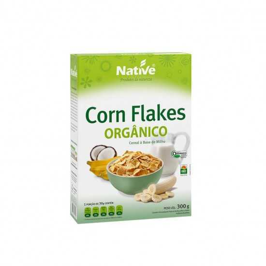 Cereal Corn Flakes Orgânico 300g - Native