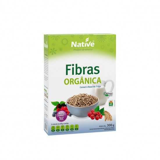 Cereal Fibras Orgânico 300g - Native