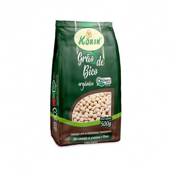 Grão de Bico Orgânico 500g - Korin