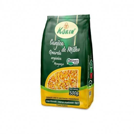 Canjica de Milho Amarela Orgânica 500g - Korin