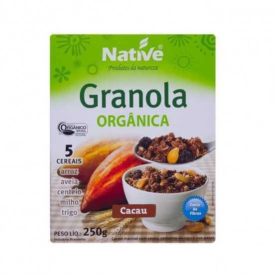 Granola Orgânica com Cacau 250g - Native