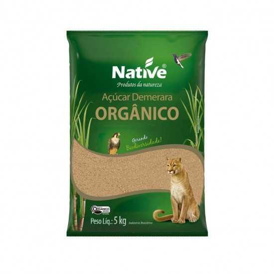 Açúcar Demerara Orgânico 5kg - Native