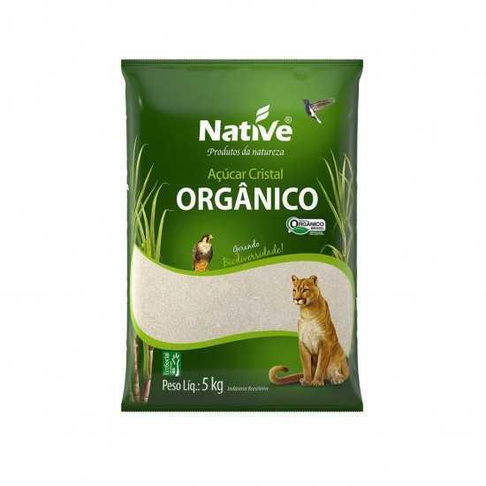 Açúcar Cristal Orgânico 5kg - Native